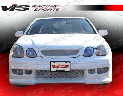 VIS Racing - Lexus GS VIS Racing Z1 boxer Front Bumper - 98LXGS34DZ1-001