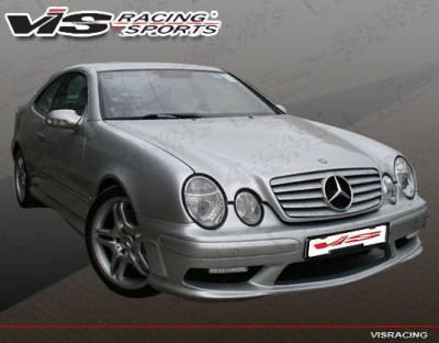 VIS Racing - Mercedes-Benz CLK VIS Racing C63 Front Bumper - 98MEW2082DC63-001