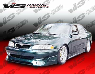 VIS Racing - Mazda 626 VIS Racing Invader Front Bumper - 98MZ6264DINV-001