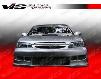 VIS Racing - Nissan Altima VIS Racing Z1 boxer Front Bumper - 98NSALT4DZ1-001