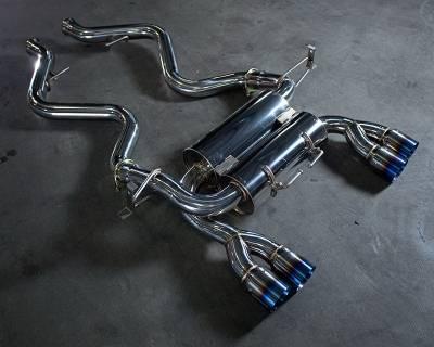 Agency Power - BMW 3 Series Agency Power Titanium Exhaust Tips - AP-E92M3-170
