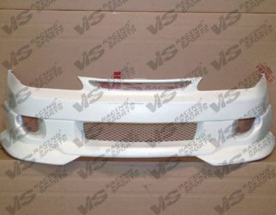 VIS Racing. - Toyota Corolla VIS Racing Strada F2 Front Bumper - 98TYCOR4DSF2-001