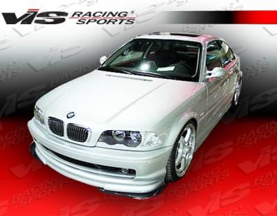 VIS Racing - BMW 3 Series 2DR VIS Racing Euro Tech Front Lip - 99BME462DET-011