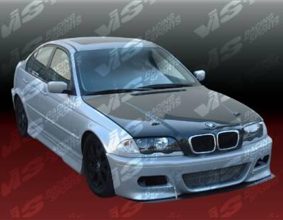 VIS Racing - BMW 3 Series 2DR VIS Racing M3 Type-2 Front Bumper - 99BME462DM32-001