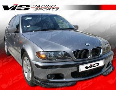 VIS Racing - BMW 3 Series 4DR VIS Racing A-Tech Carbon Fiber Front Lip - 99BME464DATH-011C