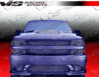 VIS Racing - Chevrolet Silverado VIS Racing Stalker-2 Front Bumper - 99CHSIL2DSTK2-001
