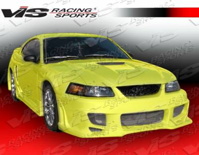 VIS Racing - Ford Mustang VIS Racing Ballistix Front Bumper - 99FDMUS2DBX-001