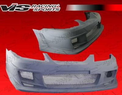 VIS Racing - Ford Mustang VIS Racing Ballistix-3 Front Bumper - 99FDMUS2DBX3-001