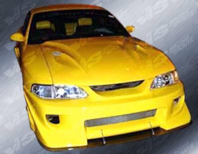 VIS Racing - Ford Mustang VIS Racing Battle Z Front Bumper - 99FDMUS2DBZ-001