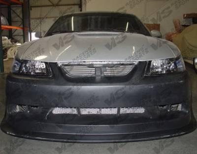 VIS Racing - Ford Mustang VIS Racing Type KD Front Bumper - Polyurethane - 99FDMUS2DCR-001P