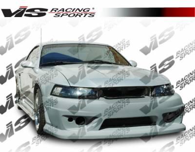 VIS Racing - Ford Mustang VIS Racing V Speed Front Bumper - 99FDMUS2DCVSP-001