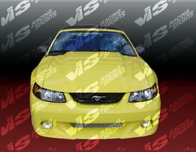 VIS Racing - Ford Mustang VIS Racing Stalker-2 Front Bumper - 99FDMUS2DSTK2-001
