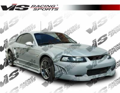 VIS Racing - Ford Mustang VIS Racing Viper Front Bumper - 99FDMUS2DVR-001