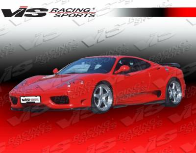 VIS Racing - Ferrari 360 VIS Racing Euro Tech Front Lip - 99FR3602DET-011