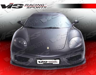 VIS Racing - Ferrari 360 VIS Racing VIP Front Bumper - 99FR3602DVIP-001