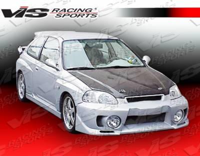 VIS Racing - Honda Civic VIS Racing Evo 5 Front Bumper - 99HDCVC2DEVO5-001