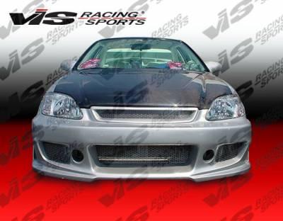 VIS Racing - Honda Civic VIS Racing TSC-3 Front Bumper - 99HDCVC2DTSC3-001