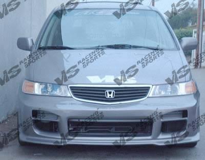 VIS Racing - Honda Odyssey VIS Racing Octane Front Bumper - 99HDODY4DOCT-001