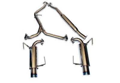 Agency Power - Subaru WRX Agency Power Catback Exhaust with Dual Tips - AP-GE-170T
