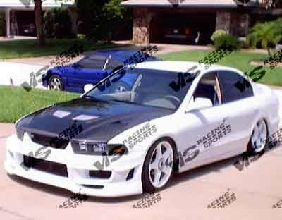 VIS Racing - Mitsubishi Galant VIS Racing Cyber-2 Front Bumper - 99MTGAL4DCY2-001