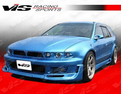 VIS Racing - Mitsubishi Galant VIS Racing JDM Style VR4 Front Bumper - 99MTGAL4DJVR4-001