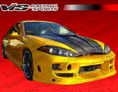 VIS Racing - Mercury Cougar VIS Racing Ballistix Front Bumper - 99MYCOU2DBX-001