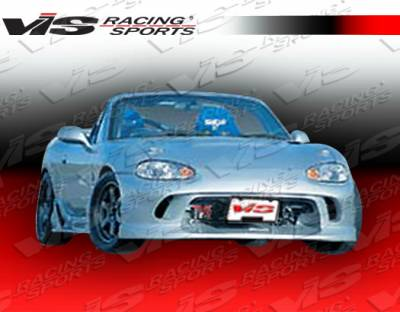 VIS Racing - Mazda Miata VIS Racing Wizdom Front Bumper - 99MZMX52DWIZ-001