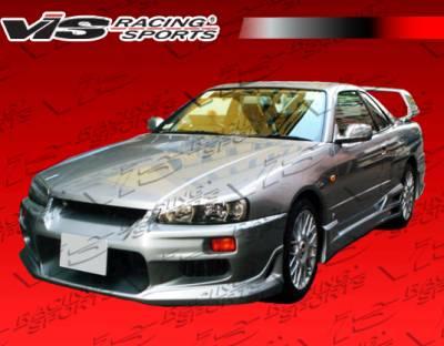 VIS Racing - Nissan Skyline VIS Racing Tracer GT Front Bumper - 99NSR34GTSTGT-001