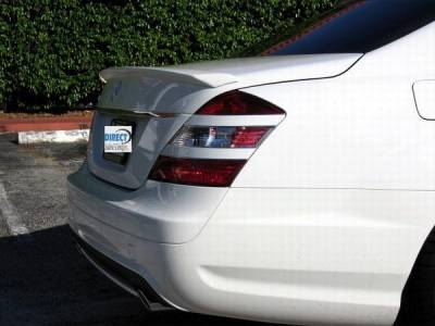Custom - Rear Lip Spoiler Wing Painted your Color