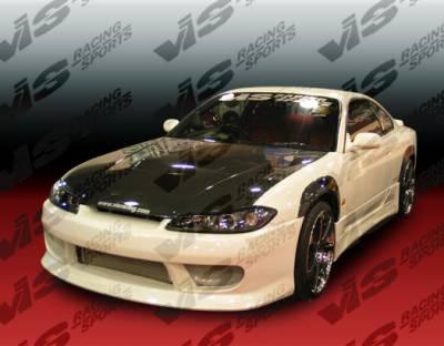 VIS Racing - Nissan Silvia VIS Racing B Speed Front Bumper - 99NSS152DBSP-001