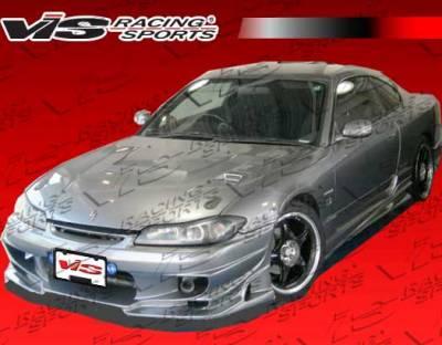 VIS Racing. - Nissan Silvia VIS Racing Ballistix Front Bumper - 99NSS152DBX-001