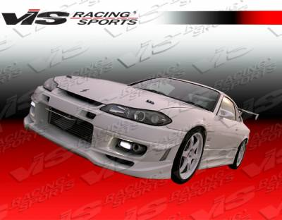 VIS Racing - Nissan Silvia VIS Racing Cyber-2 Front Bumper - 99NSS152DCY2-001