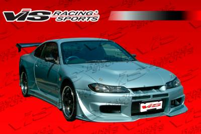 VIS Racing - Nissan S15 VIS Racing Invader GT Front Bumper - 99NSS152DINVGT-001