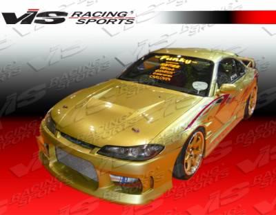 VIS Racing - Nissan Silvia VIS Racing M Speed Front Bumper - 99NSS152DMSP-001