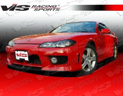 VIS Racing - Nissan Silvia VIS Racing Techno R Front Bumper - 99NSS152DTNR-001