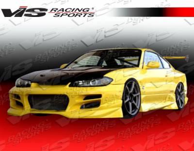 VIS Racing - Nissan Silvia VIS Racing V Spec S Front Bumper - 99NSS152DVSCS-001