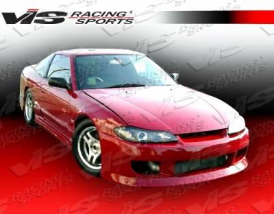 VIS Racing - Nissan Silvia VIS Racing V Speed Front Bumper - 99NSS152DVSP-001