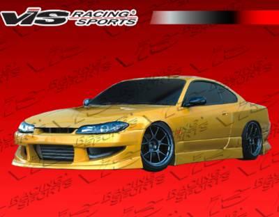 VIS Racing - Nissan Silvia VIS Racing Werk 9 Front Bumper - 99NSS152DWK9-001