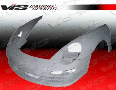 VIS Racing. - Porsche 911 VIS Racing 997 Conversion Front Bumper - 99PS9962D997-001