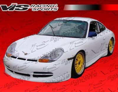 VIS Racing - Porsche 911 VIS Racing D3 KS Front Bumper - 99PS9962DD3KS-001