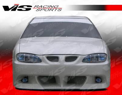 VIS Racing - Pontiac Grand Am VIS Racing Viper Front Bumper - 99PTGAM4DVR-001