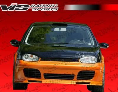 VIS Racing - Volkswagen Golf VIS Racing GT2 Front Bumper - 99VWGOF2DGT2-001