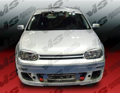 VIS Racing - Volkswagen Golf VIS Racing R-1 Front Bumper - 99VWGOF2DR1-001
