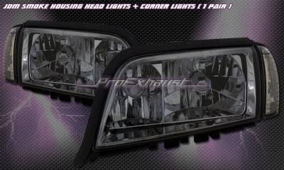 Custom - JDM Smoke Headlights With Corner