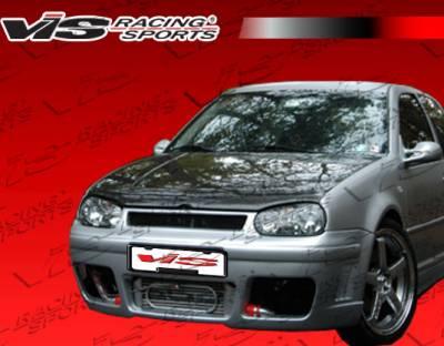 VIS Racing - Volkswagen Golf VIS Racing R Tech Front Bumper - 99VWGOF2DRTH-001