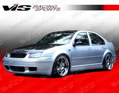 VIS Racing - Volkswagen Jetta VIS Racing C Tech Front Lip - 99VWJET4DCTH-011