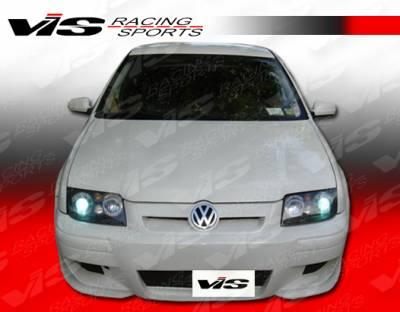 VIS Racing - Volkswagen Jetta VIS Racing M3 Front Bumper - 99VWJET4DM3-001