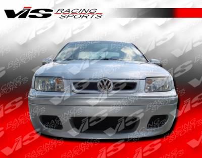 VIS Racing - Volkswagen Jetta VIS Racing Otto Front Bumper - 99VWJET4DOTT-001