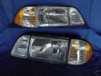 Custom - Chrome Clear Headlights With Stock Corner