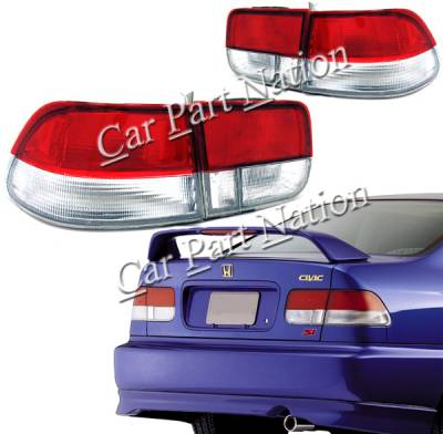 Custom - Pair Conversion Taillights Coupe